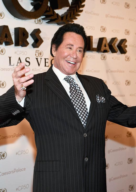 Wayne Newton at Caesars Palace 50th Anniversary Gala in Las Vegas