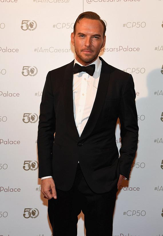 Matt Goss at Caesars Palace 50th Anniversary Gala in Las Vegas