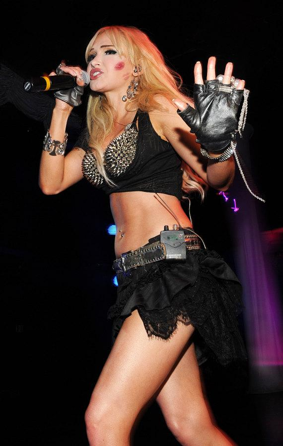 Emii performs at Krave Nightclub in Las Vegas