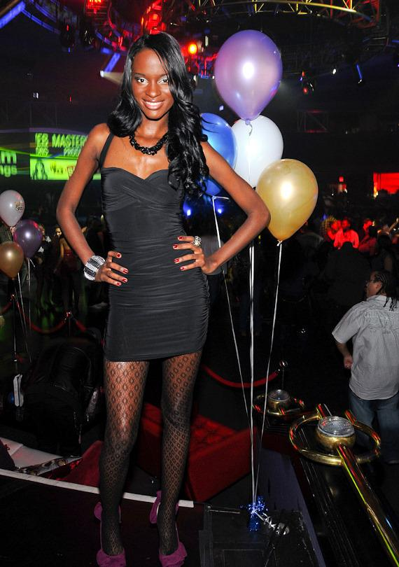 America's Next Top Model Krista White Hosts at Crown Nightclub