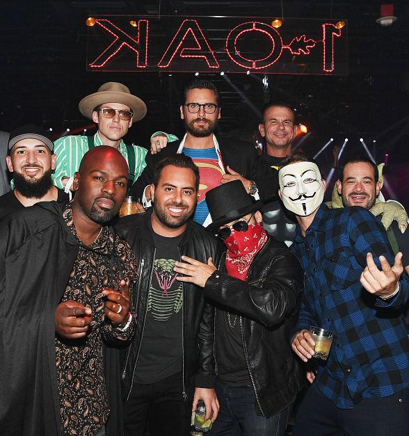 Scott Disick Hosts Halloween Celebration at 1 OAK Las Vegas