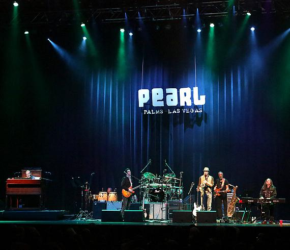 Gregg Allman and his band perform at The Palms in Las Vegas