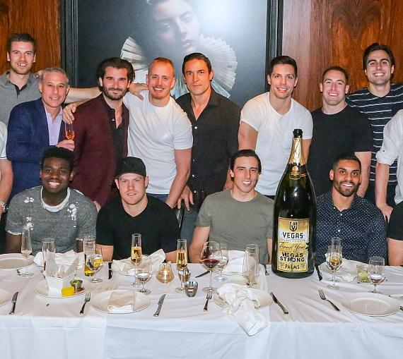 Vegas Golden Knights Dine at Scotch 80 Prime at Palms Casino Resort