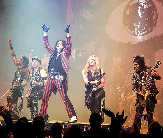 Alice Cooper performs at The Pearl at Palms Casino Resort