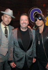 Matt Goss and Criss Angel Attend Terry Fator's 9th Anniversary at The Mirage; Fator Debuts Michael Jackson and Paul McCartney Puppets