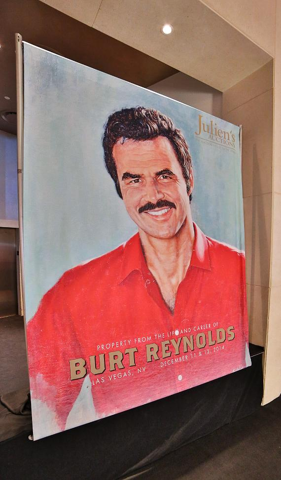 "Julien's Auctions presents ""Property from the Life and Career of Burt Reynolds"" public exhibition and auction at Palms Casino Resort"