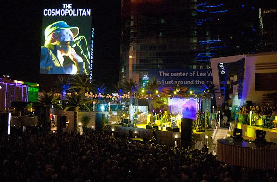 CAKE performs at The Boulevard Pool at The Cosmopolitan of Las Vegas