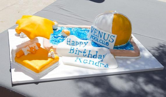 Kendra Wilkinson-Baskett celebrates 26th Birthday with Hank Baskett at Venus Pool Club