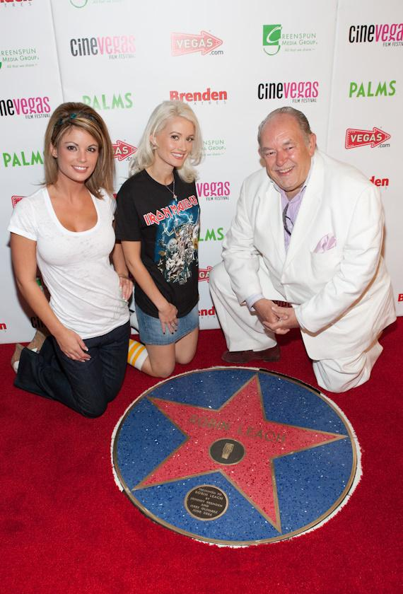 Laura Croft, Holly Madison and Robin Leach