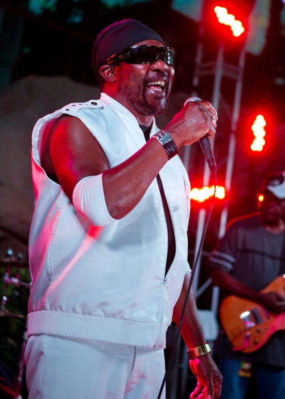 Toots and The Maytals perform at Hard Rock Beach Club