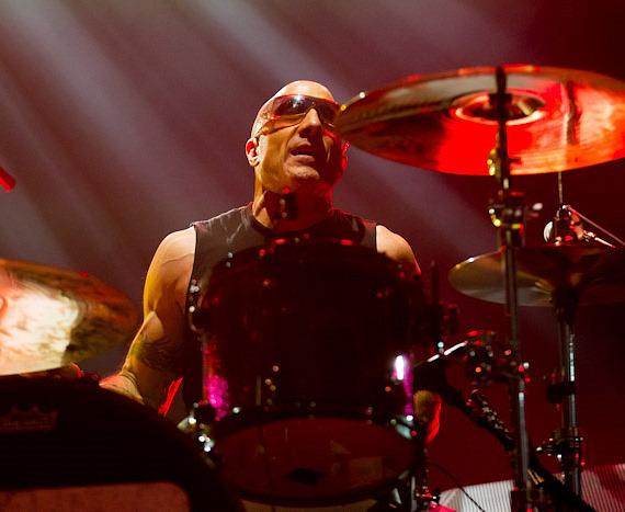 Kenny Aronoff of Chickenfoot at The Joint at Hard Rock Hotel & Casino