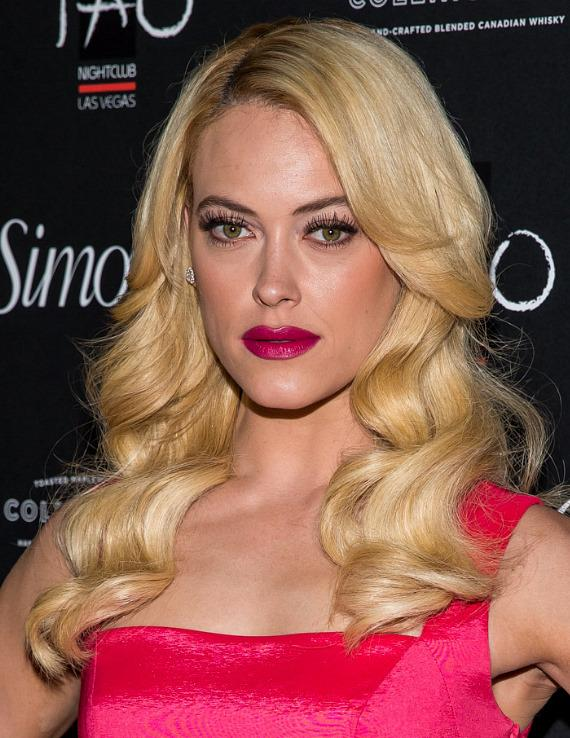 Petra Murgatroyd on red carpet at Simon G soiree in TAO Las Vegas