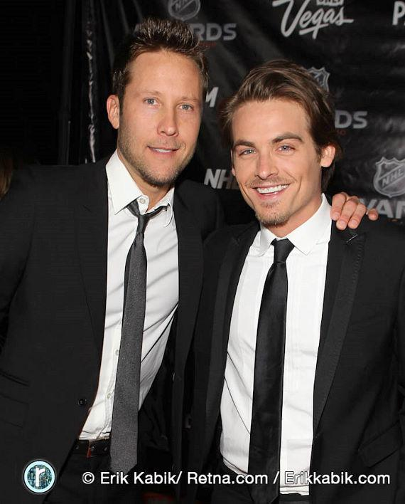 Michael Rosenbaum and Kevin Zegers