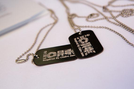 ICJUK Dog Tags