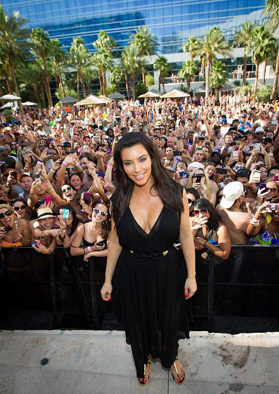 Kim Kardashian at REHAB Sundays at Hard Rock Hotel & Casino