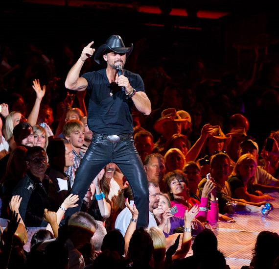 Tim McGraw performs at The Joint at Hard Rock Hotel Las Vegas