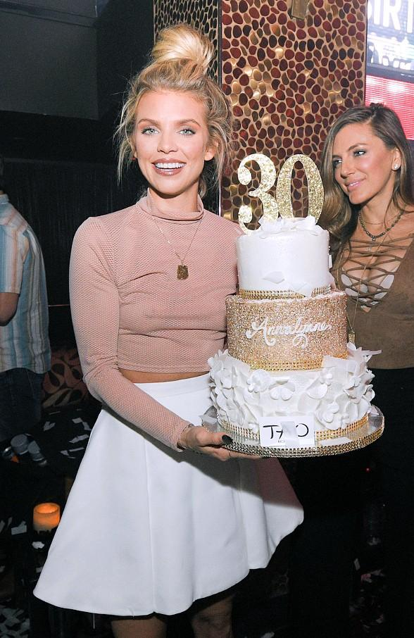 """90210"" Star AnnaLynne McCord Celebrates Birthday at TAO in The Venetian Las Vegas"