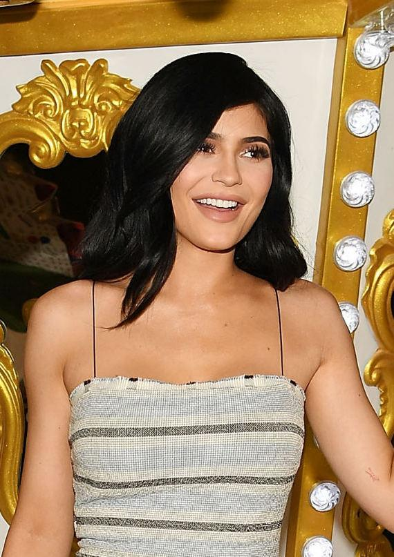 Kylie Jenner at Grand Opening Celebration of Sugar Factory American Brasserie at Fashion Show
