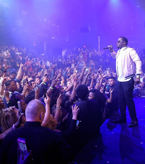 Puff Daddy Starts Off Billboard Weekend at LIGHT Nightclub with Happy Birthday Song to Biggie