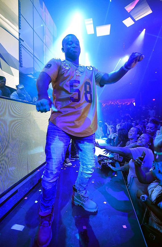 O.T. Genasis performs at the Light Nightclub at the Mandalay Bay Resort and Casino