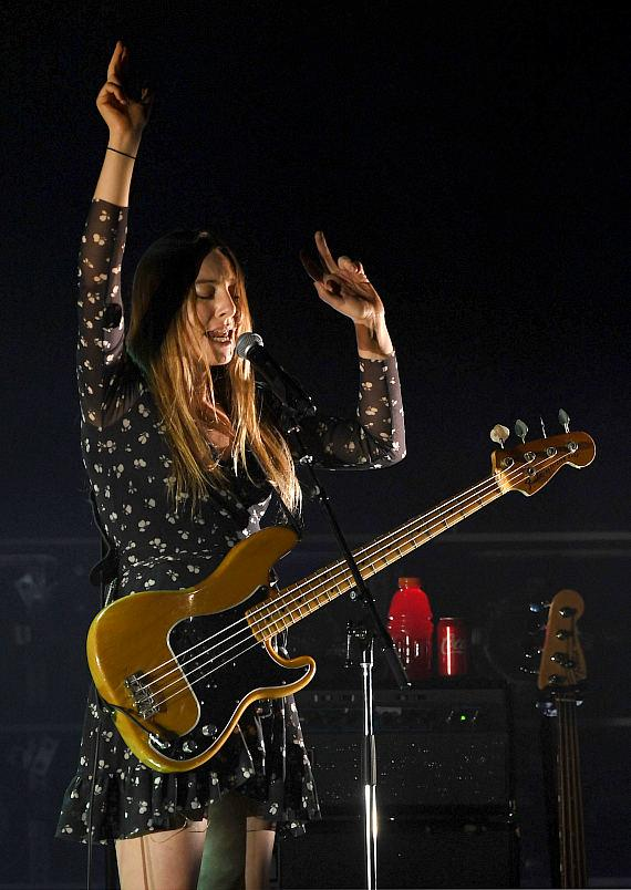 HAIM performs at The Pearl Concert Theater