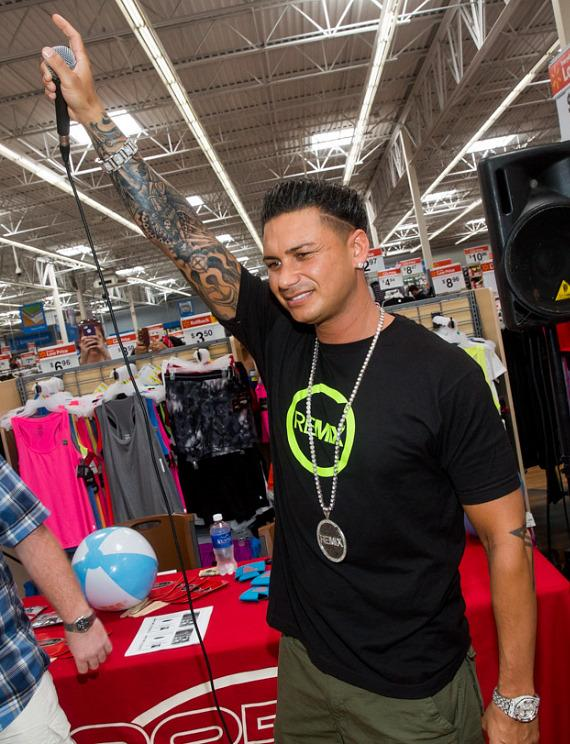 DJ Pauly D at Walmart in Las Vegas