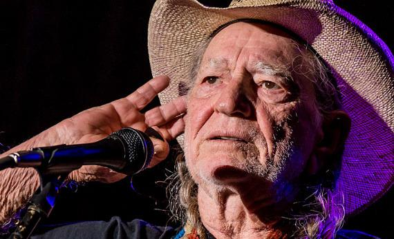 Willie Nelson performs in Henerson