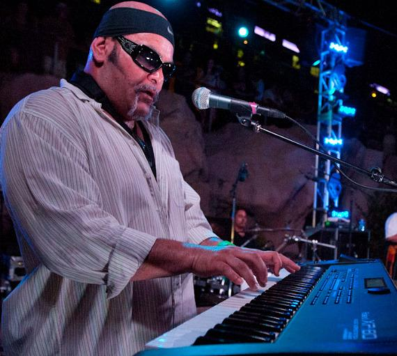 Katchafire performs poolside at Friday Night Live at The Hard Rock Hotel