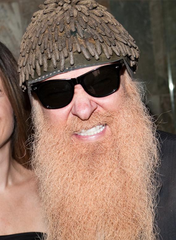 Billy Gibbons of ZZ Top at JET Nightclub