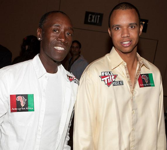 Don Cheadle and Phil Ivey