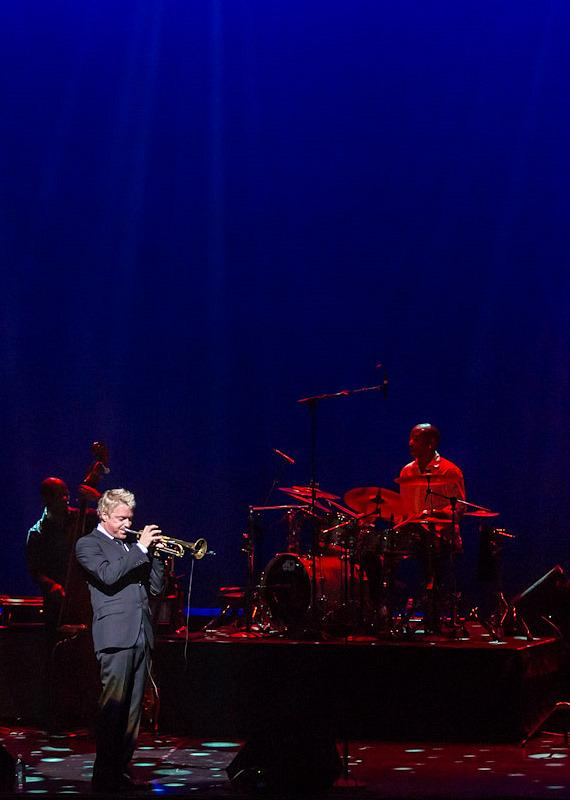 Trumpeter Chris Botti performs at Reynolds Hall at The Smith Center in Las Vegas