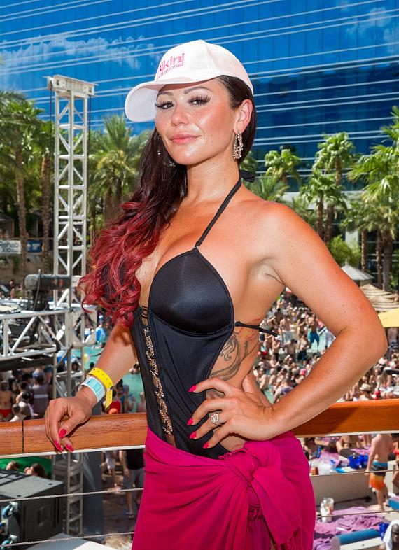 JWoww at REHAB in Las Vegas