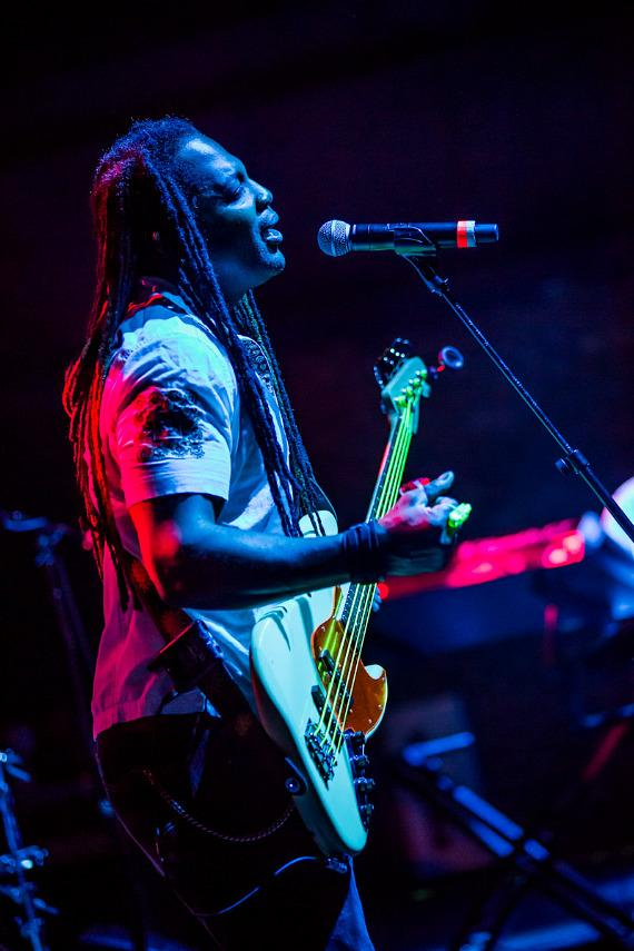 The Funk Jam perform at Brooklyn Bowl Las Vegas at The LINQ