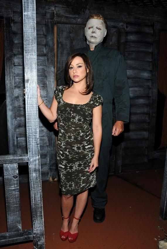 Horror Film Icon Danielle Harris Visits Fright Dome's New ...