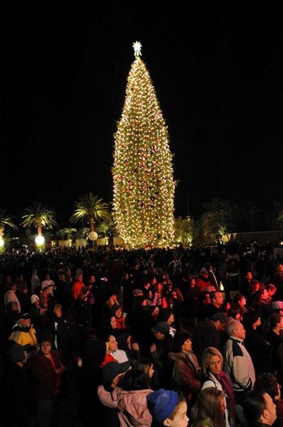 Tree lighting ceremony at M Resort