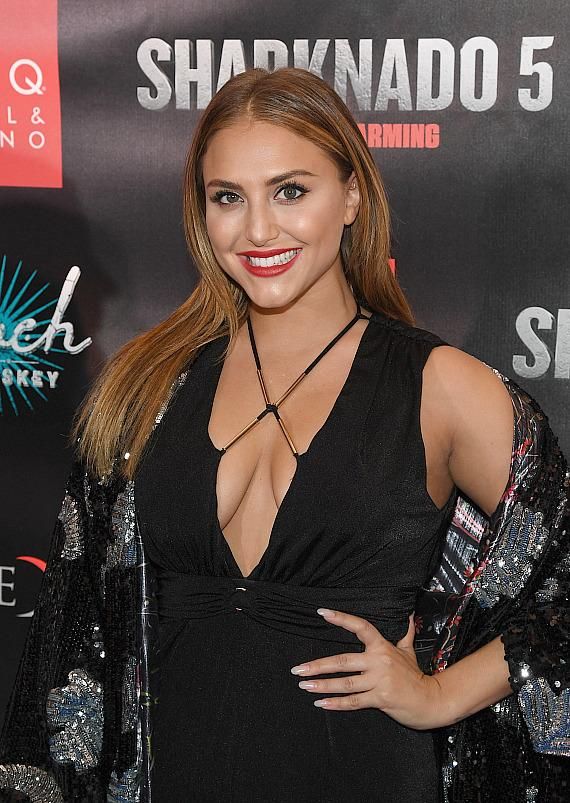 Actress Cassie Scerbo attends the premiere of 'Sharknado 5: Global Swarming' at The LINQ Hotel & Casino on August 6, 2017 in Las Vegas, Nevada