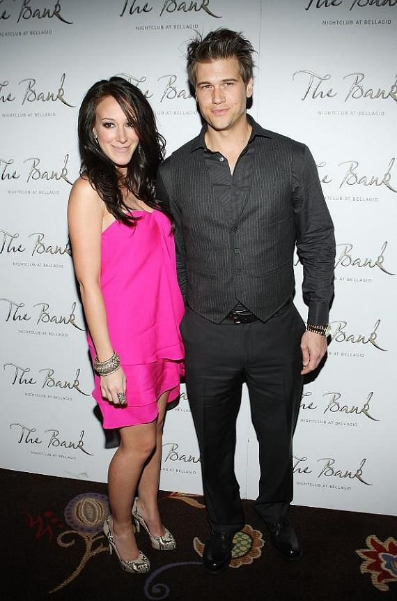 Haylie Duff and Nick Zano at The Bank in The Bellagio (Photos courtesy of courtesy of Isaac Brekken/Wireimage)