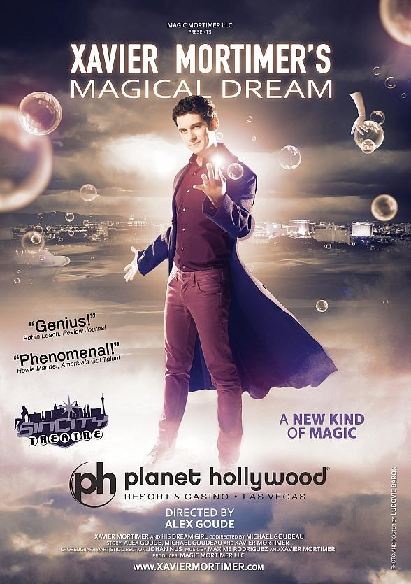 "Xavier Mortimer's ""Magical Dream"" Astounds Audiences at Sin City Theater at Planet Hollywood Resort & Casino"