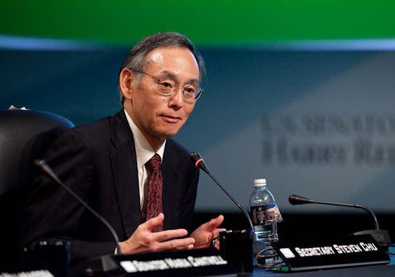 United States Secretary of Energy Steven Chu