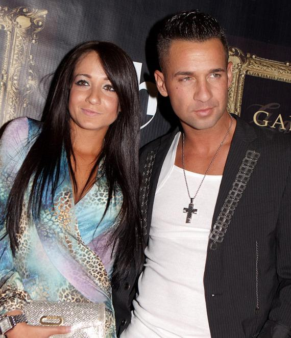 "Melissa Sorrentino and Mike ""The Situation"" Sorrentino"
