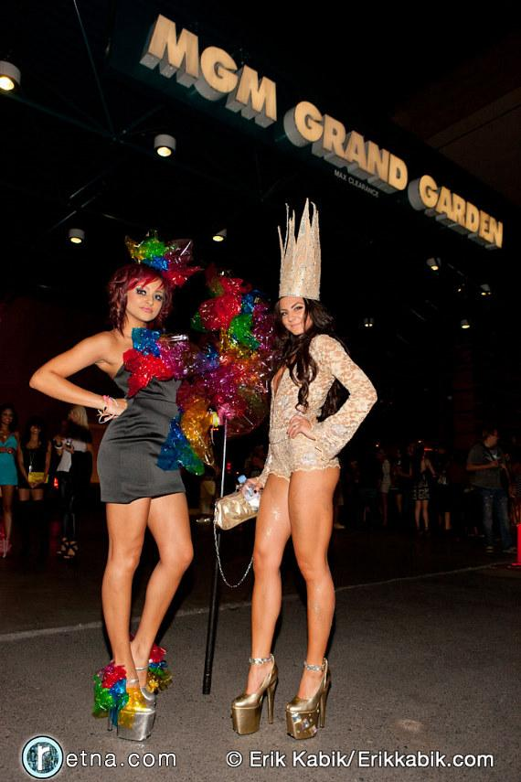 Lady Gaga fans dressed for the concert