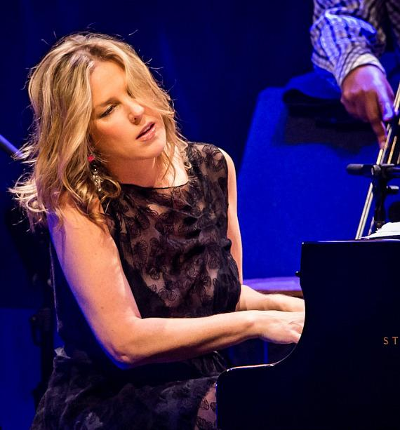 Diana Krall Performs at Reynolds Hall at The Smith Center For The Performing Arts in Las Vegas