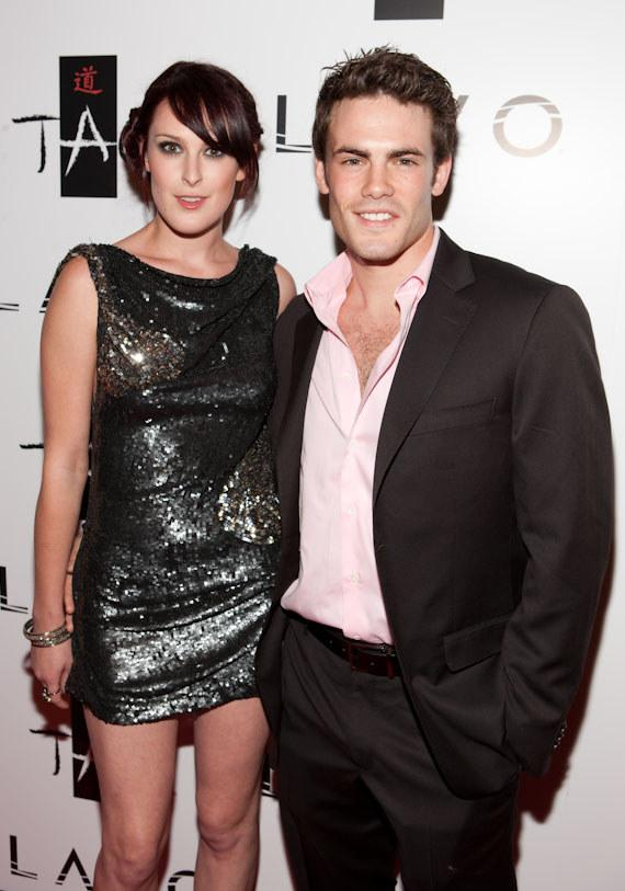 Rumer Willis and Micah Alberti