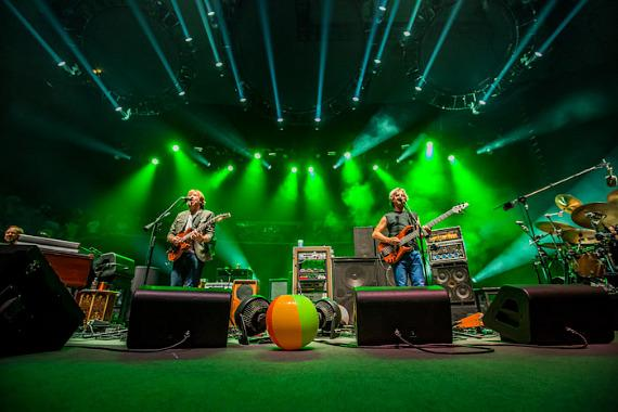 Phish still on hiatus from Las Vegas stop at Long Beach for an epic performance.