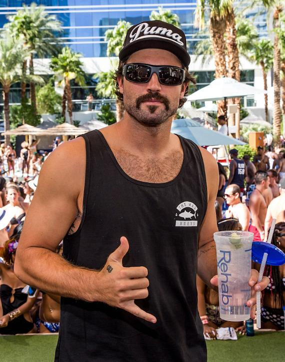 Brody Jenner at REHAB at Hard Rock Hotel & Casino