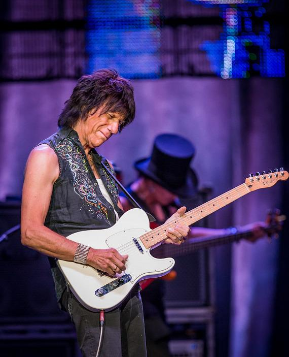 Jeff Beck performs at The Joint at Hard Rock Hotel & Casino in Las Vegas