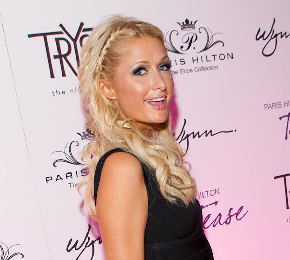 Paris Hilton celebrates her latest shoe collection and fragrance at Tryst Nightclub
