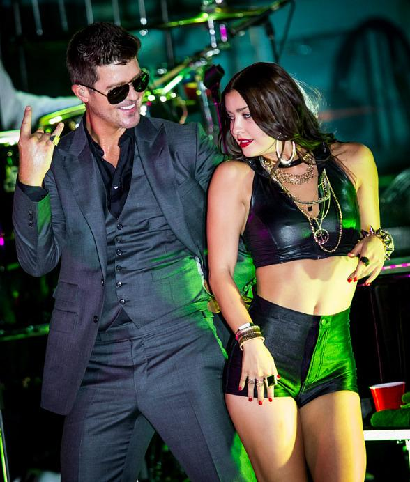 Robin Thicke, Jason Derulo and Sammy Adams Perform at Boulevard Pool at The Cosmopolitan of Las Vegas
