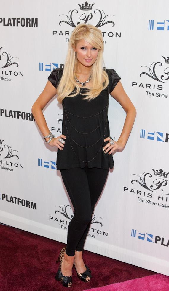 Paris Hilton Shoes–Spring 2011 in Las Vegas