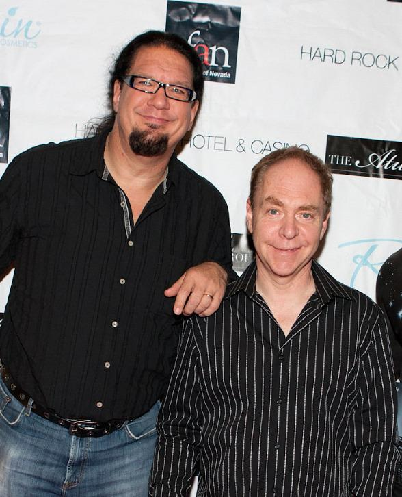 Penn & Teller at 24th Annual Black & White Party at The Joint